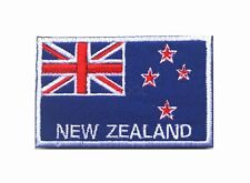 NEW ZEALAND Flag Patch Embroidered kiwi IRON ON NEW