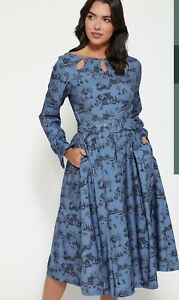 NWT LINDY BOP LAUREL WINTER TOIL DRESS SIZES 12 14 CHRISTMAS DAY OUTFIT