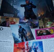 Josh Hutcherson 26 pc German Clippings Full Pages Hunger Games Poster Peta