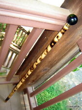 antique Slot Machine knob Shillelagh walking-stick cane~scorched hardwood~gift