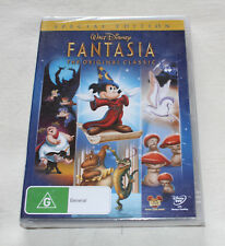 Walt Disney Fantasia - The Original Classic (DVD, 2011) New Sealed