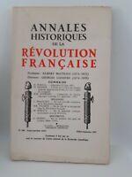 Rivista Annali Storia Della Revolution Francaise Luglio-Settembre 1967 N° 189
