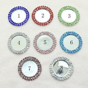 Bottle Caps Tray Round Buttons Ribbons Wedding Decorations Diamonds Hair Flowers