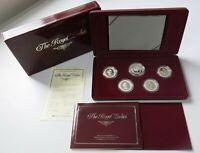 Royal Australian Mint 1992 Masterpieces Royal Ladies Silver Proof Coin Set