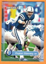 PEYTON MANNING/2000 FLEER IMPACT FOOTBALL CARD