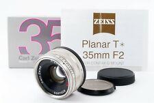 Mint Contax Carl ZEISS Planar 35mm f2 T G Obiettivo Per G1 G2 Fr Giappone 684577