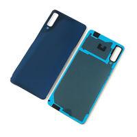 Vetro Posteriore per Samsung Galaxy A7 Cover Ricambio copertura Batteria Blu