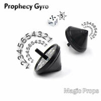 Magic Tricks Prop Funny Prediction Spinning Top Gyro Kids Toy Birthday Gift New