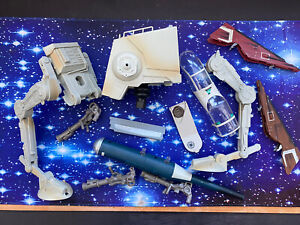 STAR WARS  ACTION FIGURE MODERN VEHICLES VARIOUS SPARE PARTS BUNDLE JOBLOT