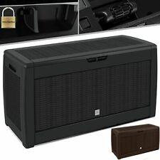 KESSER® Auflagenbox Kunststoff Kissenbox 310L Gerätetruhe Kiste Gartentruhe box