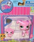 Littlest Pet Shop Mommy and baby Poodle Bobble in style 3599 & 3600 New LPS
