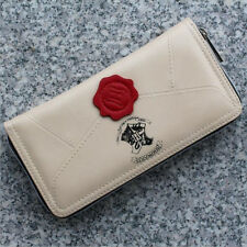 Female Students Harry Potter Stamp Letter Zip Around Wallet Gift Fashion Purse