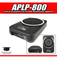 """AUDIOPIPE 8"""" Active Enclosed Low Profile Subwoofer System 400W ( APLP-800 )"""