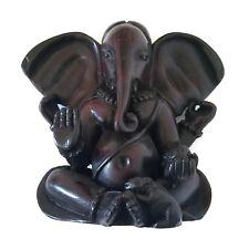ST01 Nepalese Handmade Beautifully carved Hindu Ganesh decor statue from Nepal