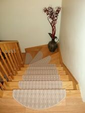 Set of 15 Beautiful Carpet Stair Treads Stair mats - made in Europe