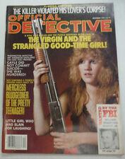 Official Detective Magazine Little Girl Who Was Slain December 1987 062215R