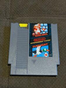 Mario Bros Duck Hunt NES Original Nintendo Authentic Works