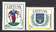 LITHUANIA 1995 **MNH SC# 521 - 522  Coat of Arms