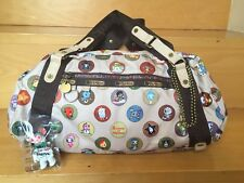 TOKIDOKI for Lesportsac Mi Familia Gioco Duffel Bag With Excellent Condition Qee