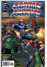 CAPTAIN AMERICA #9 (v. 2, 1997): Tom Raney cover / Sons of the Serpent  --  VF