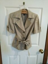 Lovely Ann Taylor Blazer Op Nwot Taupe Suits & Suit Separates Women's Clothing