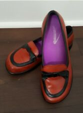 Dansko Danielle Bow Red Loafers Women's Size 37 US 6 Slip On Shoes Brazil