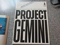 VINTAGE NASA PROJECT GEMINI PROGRAM BOOK PAMPHLET NICE SHAPE