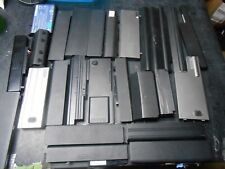 Lot of 26 Dell HP Other Lithium Ion Laptop Batteries Scrap Cell Recovery AS IS