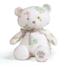 "Brand New Little Me Floral Teddy, 10"" by Gund Item # 4060196"