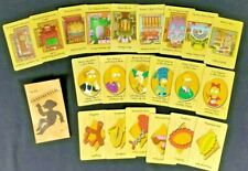 SIMPSON'S CLUE GAME CARDS & CONFIDENTIAL CASE FILE REPLACEMENT PARTS ONLY