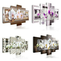 5pcs Canvas Print Painting Pictures Home Decor Wall Art Posters Flower Ornament