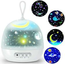 LED Galaxy Starry Night Light Projector 4 Films 8 Modes LED Ocean Star Sky Lamp