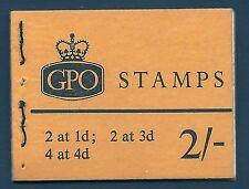 SG n21pa 2 / - wildings GPO blocchetto con tutti i riquadri luglio 1965 Unmounted MINT / MNH