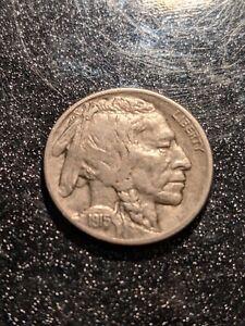 1915-D Denver Mint Buffalo Nickel Ch VF