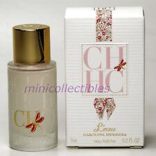 Carolina Herrera CH L'EAU Eau de Toilette 7 ml Mini Perfume Bottle New in Box