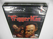 Trigger Man (Sony PlayStation 2, 2004) BRAND NEW FACTORY SEALED
