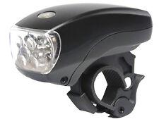 Fanale / Faretto Anteriore Bici Batteria 5 LED Attacco al Manubrio