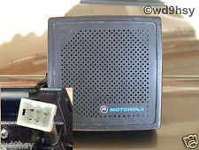 Motorola radio communication speakers ebay motorola external radio speaker 6 watt amplified hsn1000 1006 tested vhf uhf fandeluxe Images