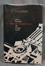 Men of Ingenuity Beneath the Orange Tower U of Texas Engineering College signed