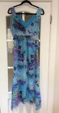 "LOVELY SUMMER MAXI DRESS SIZE 14 FROM M&CO CHEST 42"" LENGTH 50"" GREAT CONDITION"