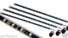 4x 24v LED barra de luz barras barra de rayas 33,5cm 18 x 3825 SMD ip67 rojo Red