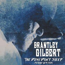 BRANTLEY GILBERT THE DEVIL DON'T SLEEP DELUXE 2CD SET (New Release 2017)