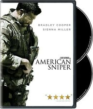 American Sniper - 2 DISC SET (2015, REGION 1 DVD New)