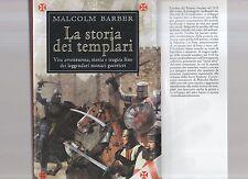 La storia dei templari - Malcom Barber -  may tredic