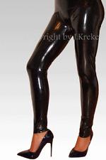Latex Leggings Leggins Hose Rubber Trousers Pants XXS-XXL / W25-W38 (Inch) #A1