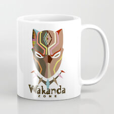 Mug Black Panther Wakanda Ceramic Coffee Cup Marvel's African American Gift 11oz
