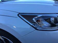 2016 2017 Honda Accord Sedan Headlight Signal Smoke Tint Overlays - Amber Delete