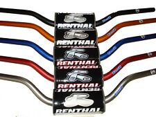 New Renthal Fat bar Handlebars Motocross Titanium RC HIGH 609-01-TT CRF SXF