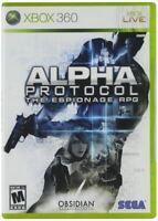 Alpha Protocol - Authentic Microsoft Xbox 360 Game