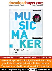 MAGIX Music Maker 2020 Plus - [Download]